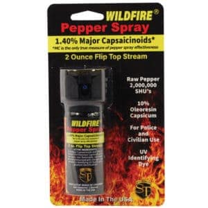 wildfire pepper spray in package black