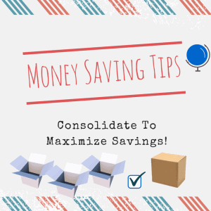 Package Forwarding Tips: Consolidate to Maximize Savings!