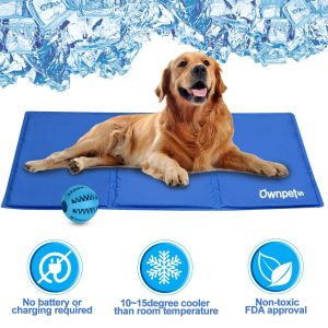 Pet Self-Cooling Gel Pad Amazon | Summer Dog Accessories