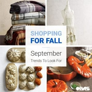 September Shopping Trends