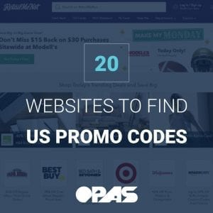 US Promo Codes | OPAS Blog