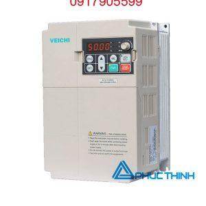 biến tần veichi vào 1 pha 220V ra 3 pha 380V 7.5h