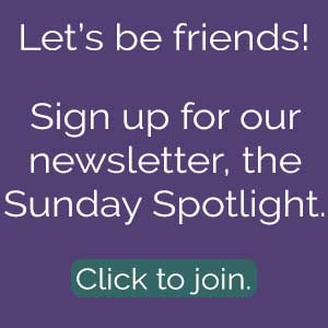 Sunday spotlight opt in box.