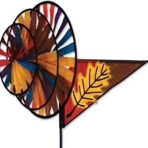 Triple Spinner - Fall Leaf