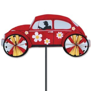 22 in. VW Hippie Mobile Spinner - Red