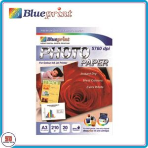 Blueprint Photo Paper Glossy A3