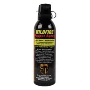 1.4% MC WildFire™ Pepper Spray 16 oz Fogger Pistol Grip View of Active Ingredients