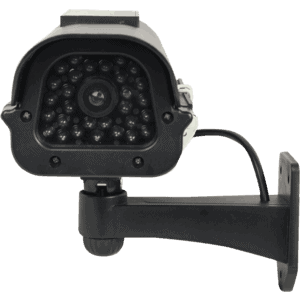 Black Dummy Camera Front Facing View