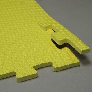 Мягкий пол универсальный. Желтый.