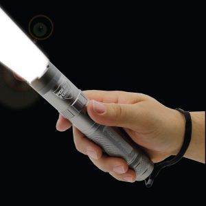 Police Force Tactical Stun Flashlight