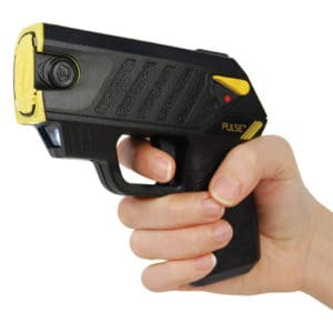 Taser® Pulse Plus With Laser, LED, In Hand