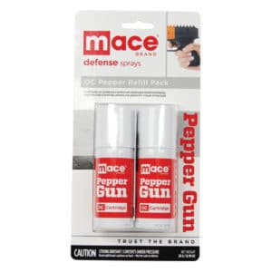 Mace Pepper Gun Refill 2 Pack In Package
