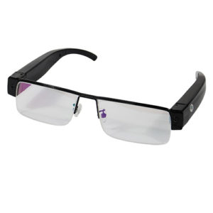 DVR Hidden Camera Glasses Front View