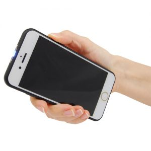 Front Stun Gun Cell Phone In Hand