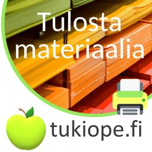 *Valmista materiaalia kouluun ja kotiin*