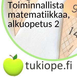 alkuopetus matematiikka toiminnallinen