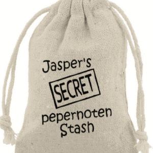 Pepernotenzakje Secret