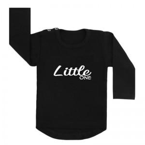 little one shirt zwart