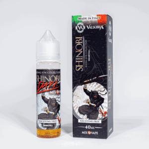 Eco Vape vaporArt range Shinobi Dark Flavour 40ml Shortfill