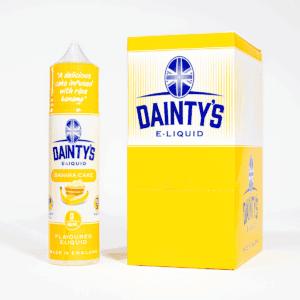 EcoVape Dainty's range Banana Cake 50ml Shortfill