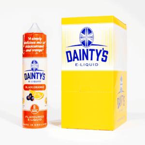 EcoVape Dainty's range Black Orange 50ml Shortfill