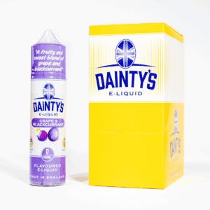 EcoVape Dainty's range Grape & Blackcurrant 50ml Shortfill