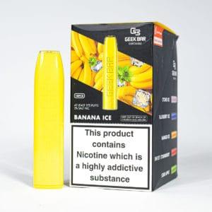 Eco Vape Wholesale Geek Bar Banana Ice Disposable Vape