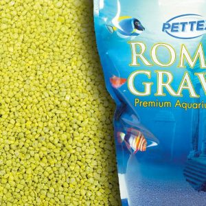 Aquatic Lemon Zest 4.4lb Aquarium Gravel