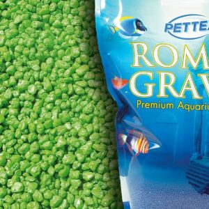 Aquatic Lime Green 4.4lb Aquarium Gravel