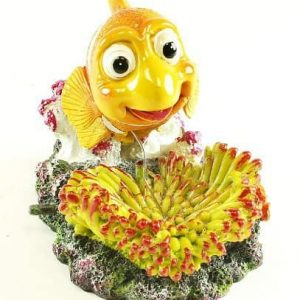 Air Operated Clown Fish Aquarium Ornament