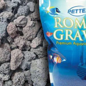 Aquatic Natural Lava Lumps 4.4lb Aquarium Gravel