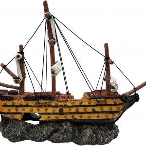 Galleon Aquarium Ornament