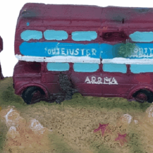London Bus Aquarium Ornament