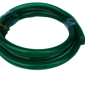Smooth Green Hose 1/2'' (12.5mm) With Clamps