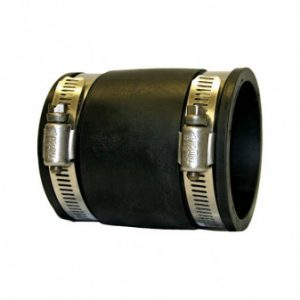 PondH2o Flexible 4'' PVC Straight Coupling