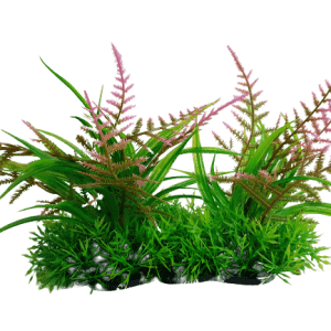 6 Inch Wide Artificial Aquarium Plants Foreground Ornament