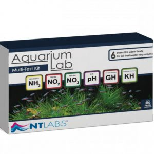 NT Labs Aquarium Lab Multi Test Kit accurate reading of the pH, nitrite, nitrate, hardness and ammonia levels for aquariums and fish tanks