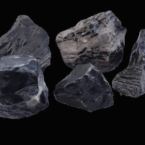 Black and White Melaleuca Aquarium Stone