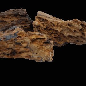 Honeycomb Dragon Stone 11 Lb (5 Kilo) Decor For Landscaping Aquariums With Natural Rock