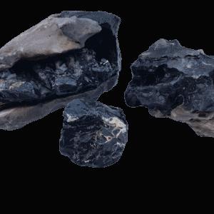 Melaleuca Black And White Thick Line Aquarium Stone 11 Lb (5 Kilo)