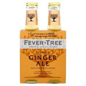 Fever Tree Ginger Ale (4X200ml)
