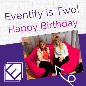 Eventify is two 2nd birthday celebrations