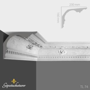 gips-stuckaturer-stockholm-sekelskifte-dekorativa-taklister-taklist--tl74-gipsstuckaturer-se