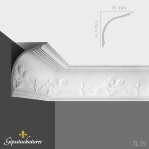 gips-stuckaturer-stockholm-sekelskifte-dekorativa-taklister-taklist-tl75-gipsstuckaturer-se