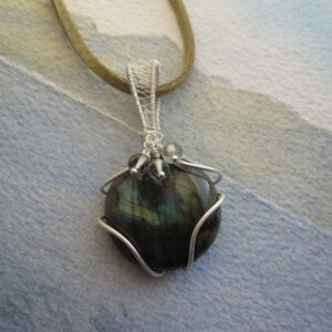 Labradorite Pendant by Indigo Berry