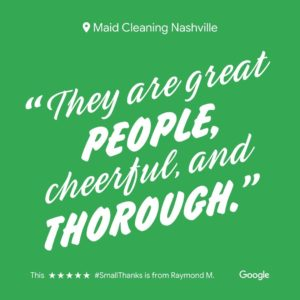 Maid Cleaning Review 1