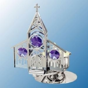 Chrome Plated Church Building