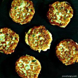 Chickpea Flour Zucchini Fritters (Vegan, Grain-Free)