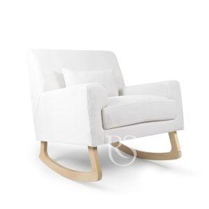 белый кресло-качалка jazz rocker rocking seats