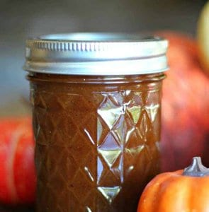 Home-Made Pumpkin Spice Syrup & Pumpkin Spice Latte